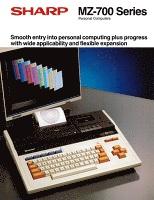 パーソナルコンピュータ MZ-700シリーズ(英語版)