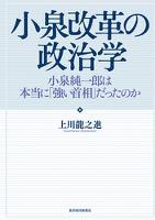 小泉改革の政治学―小泉純一郎は本当に「強い首相」だったのか