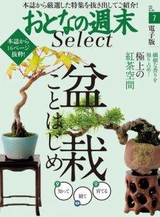 おとなの週末セレクト 「盆栽ことはじめ&極上の紅茶空間」<2017年7月号>