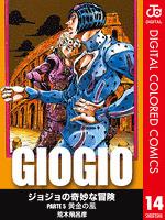 ジョジョの奇妙な冒険 第5部 カラー版 14