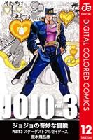 ジョジョの奇妙な冒険 第3部 カラー版 12