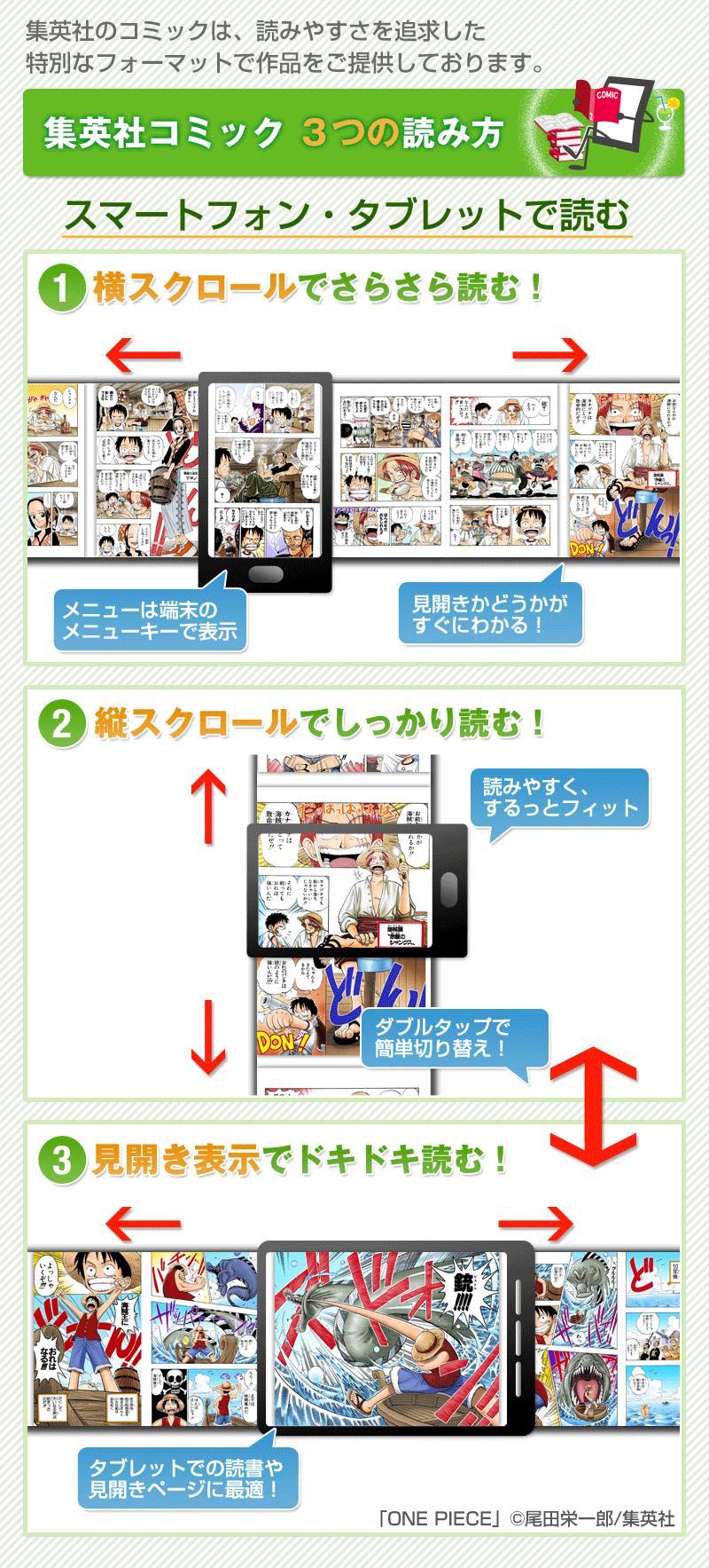集英社コミックの読み方(スマホ)