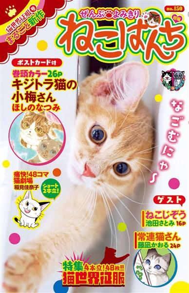 ねこぱんち 猫世界征服号 No.150