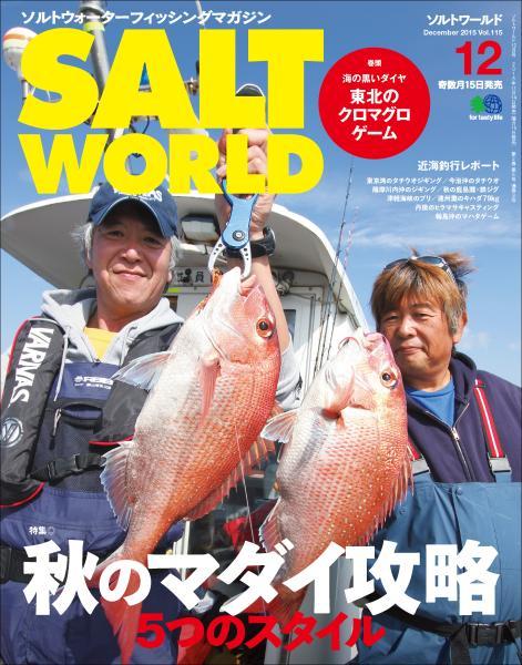 SALT WORLD 2015年12月号 Vol.115