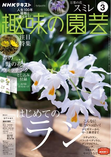 NHK 趣味の園芸  2021年3月号