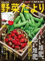 野菜だより 2016年11月号