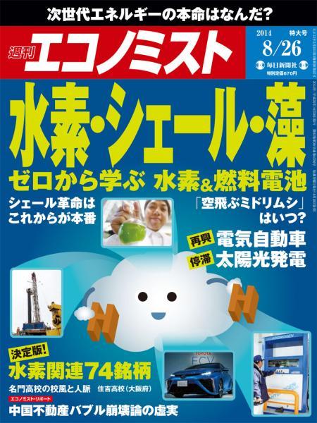 週刊エコノミスト 2014年8月26日特大号