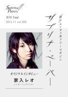 サブリナ・ペーパー 2012.11 vol.005