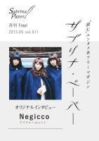 サブリナ・ペーパー 2013.05 vol.011