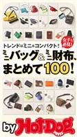 by Hot-Dog PRESS ミニバッグ&ミニ財布、まとめて100! 2019年2/22号